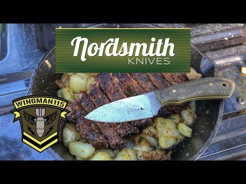 Nordsmith Knives SkipJack Fixed Blade EDC