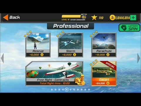 Flight Pilot Simulator 3D Android Game - Professional Missions