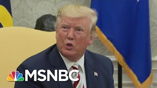 Trump's 'Promise' To Foreign Leader Sparked Whistleblower Complaint | Velshi & Ruhle | MSNBC