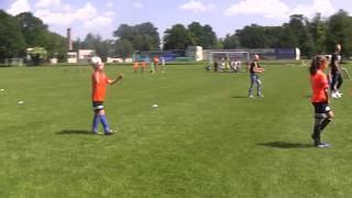 CZ5-Dzień Dziecka w Bolesławcu-Turniej Dzikich Drużyn-Nadia i FC Czarne Pomarańcze-Trzeci Meczyk