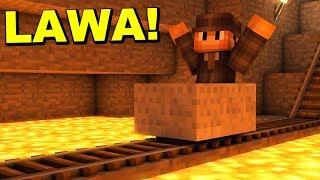 MINECRAFT PODŁOGA TO LAWA - Mój Dom W Minecraft! - EPICKIE!