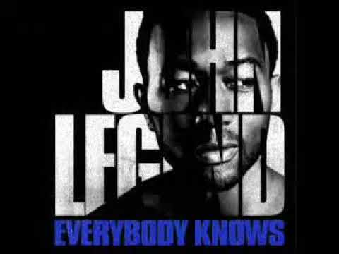 EVERYBODY KNOWS  JOHN LEGEND KARAOKE