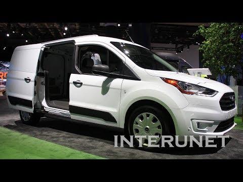 Ford Transit Connect XLT - cargo van.