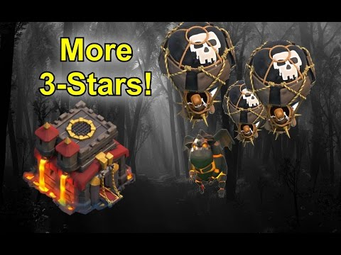 More TH10 3-Stars - LaLoon