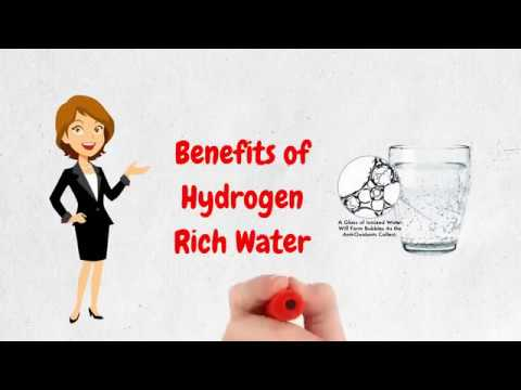 Benefits of Hydrogen Water