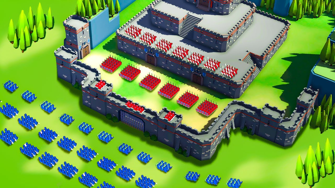 TABS but it's a Castle Siege Battle Simulator - Extremely Realistic Siege Warfare Simulator