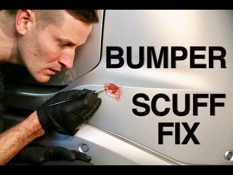 How to Hide a Bumper Scuff Fast