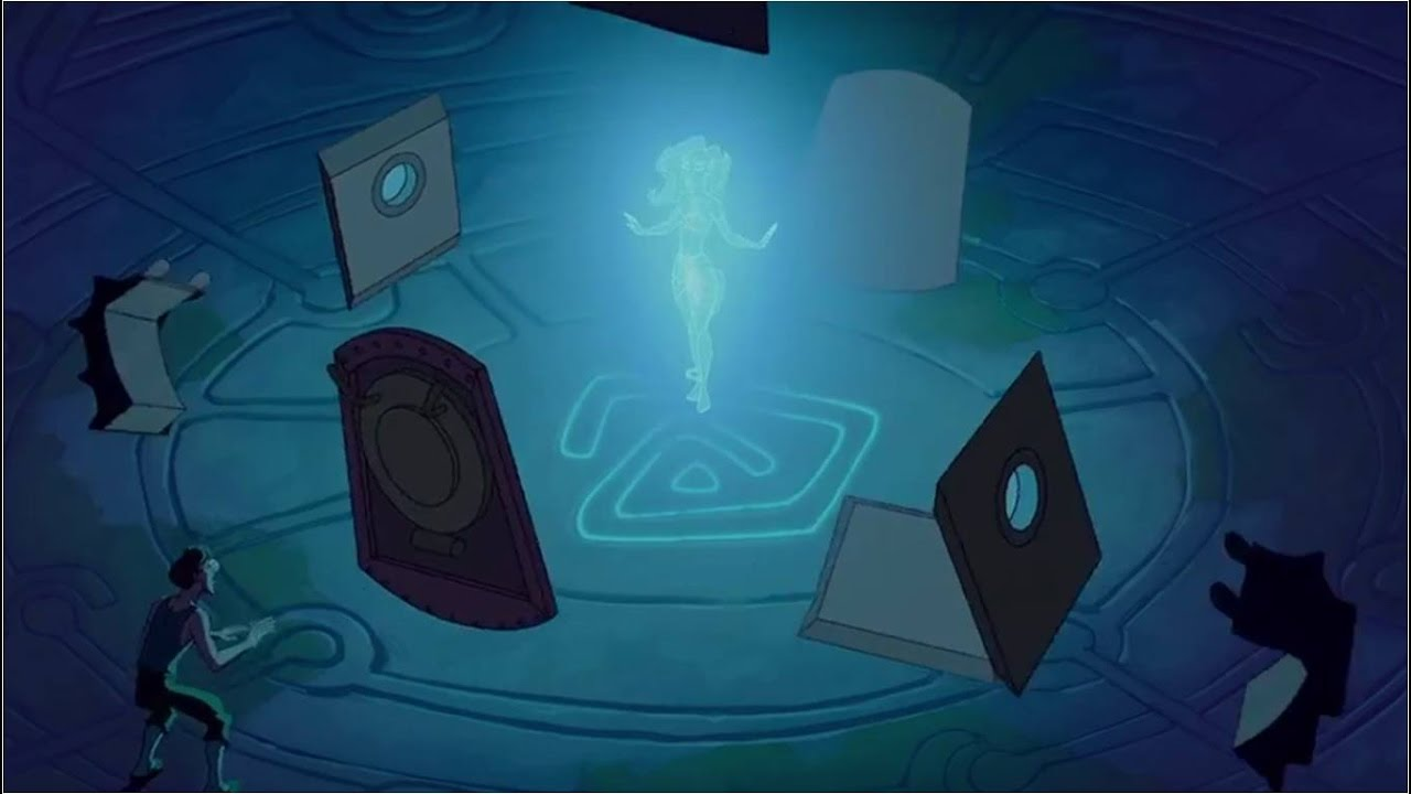 Atlantis: The Lost Empire - Milo Meets Kida (Finnish) [HD