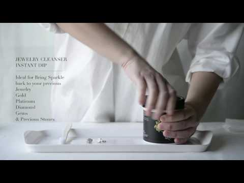 Clean your Jewelry By WKM Jewelry cleaner