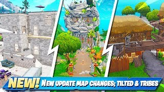 Secret Map Changes in New Fortnite Update!