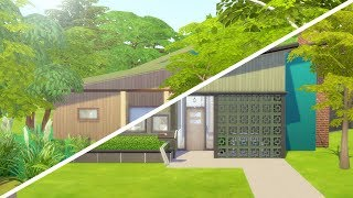 MID CENTURY MODERN MESS // The Sims 4: Fixer Upper - Home Renovation