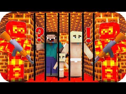 TROLL BEBEK LAV HAPİSHANESİNDEN KAÇIYOR! 😱 Minecraft
