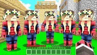 FAKİR SEVGİLİSİNİ KLONLADI! 😱 - Minecraft