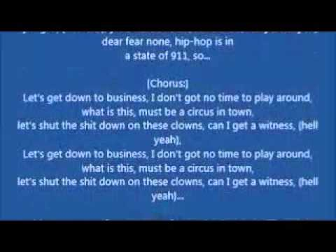Eminem-Business(Lyrics)