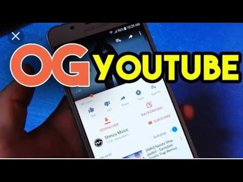 How to install and use the OgYouTube ,ogyoutube, YouTube background video, background YouTube videos