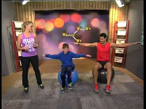 Download Fun-filled Kids Core Workout with Robyn Borowsky (5 June 2014)