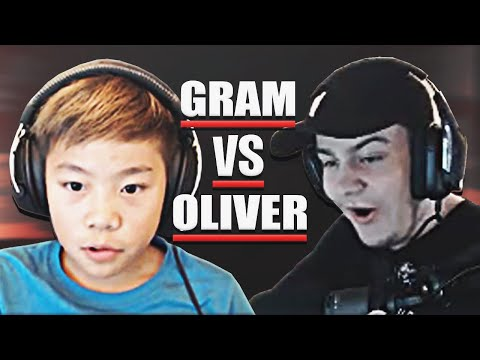 Gram VS Oliverlygaming - Fortnite 1v1 i Playground