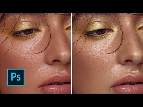 How To Colour Grade And Correct Skintones With Luminosity Masks - Beauty Portrait Tutorial