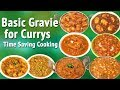 Basic Gravy for Currys   Time saving Cooking l Cooking Hacks l Kitchen Tips by Hyderabadi Ruchulu