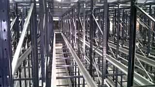 Godrej shuttle racking system