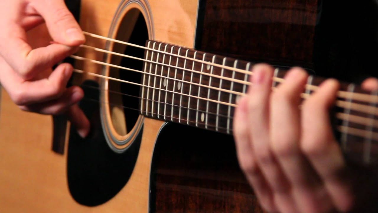 How To Strum A Guitar : acoustic guitar player free hd stock video footage youtube ~ Russianpoet.info Haus und Dekorationen