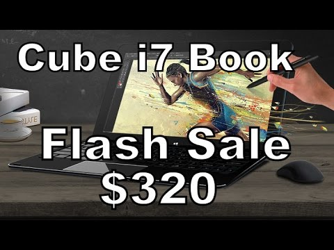 Cube i7 Book Flash Sale $322 dollars ONLY! Promotion/Voucher/Coupon GEARBEST (August)