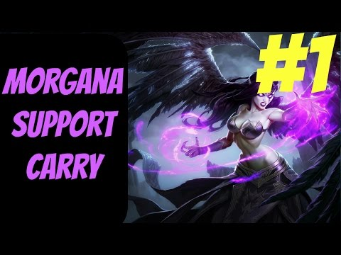 How to Carry as Morgana #1 -- Only Support to Diamond Series -- League of Legends