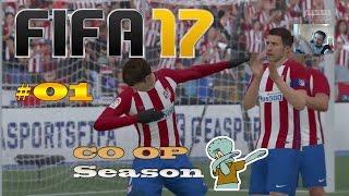 Griezmann rasiert! FIFA 17 Co-Op Season mit Lars & Voessel   Folge 01 -  PS4