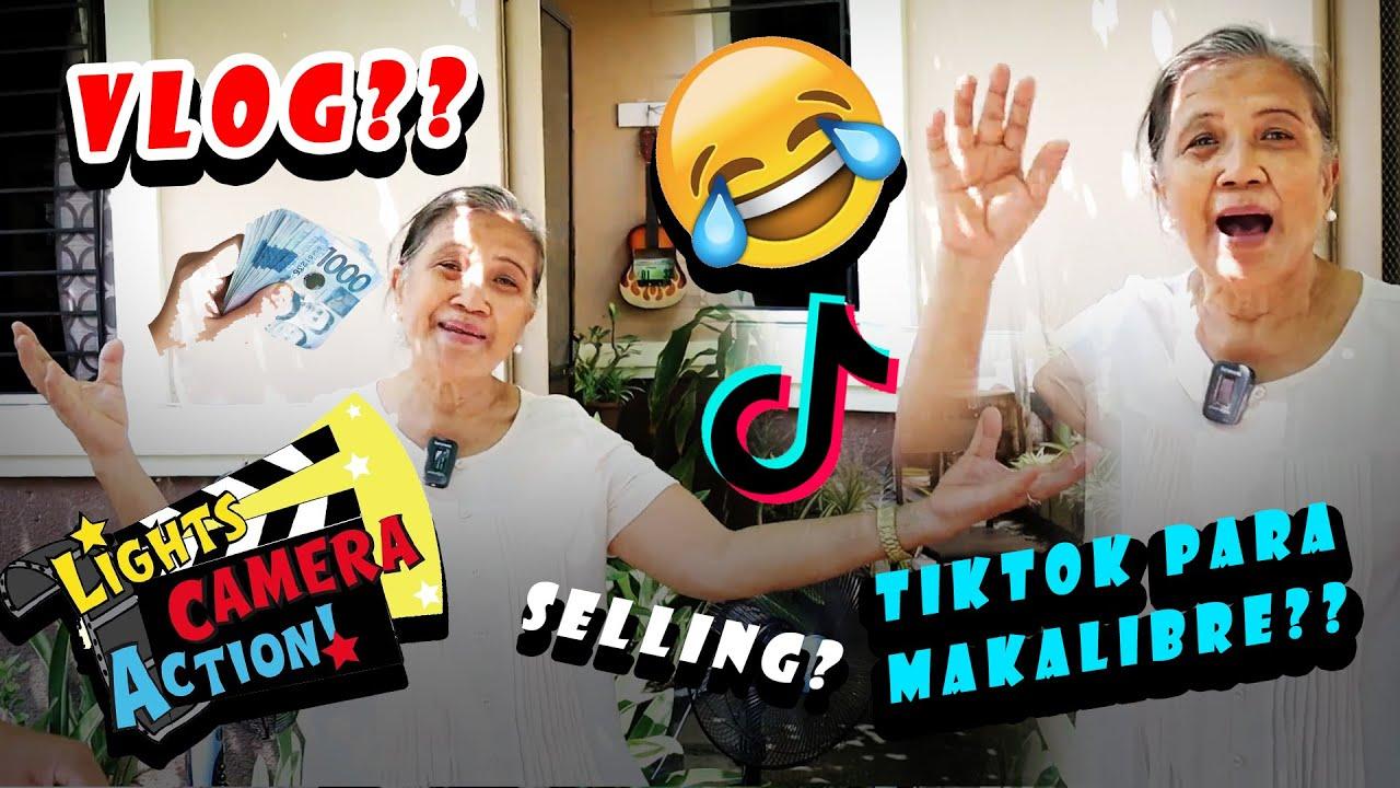 Si Nanay ang magaling na vlogger 🧓🤳🔜 Gagawin Lahat 😂🤣