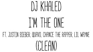 Download DJ Khaled - I'm The One (Clean) MP3 song and Music Video