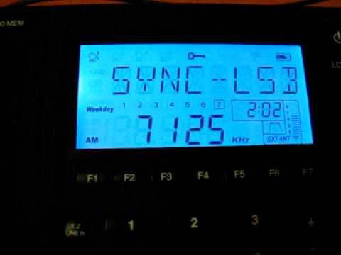 SW: Radio Conakry 7125 kHz Conakry, Guinea 2011-06-18
