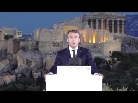 Em. Macron, A Speech For Europe, Athens Acropolis 2017