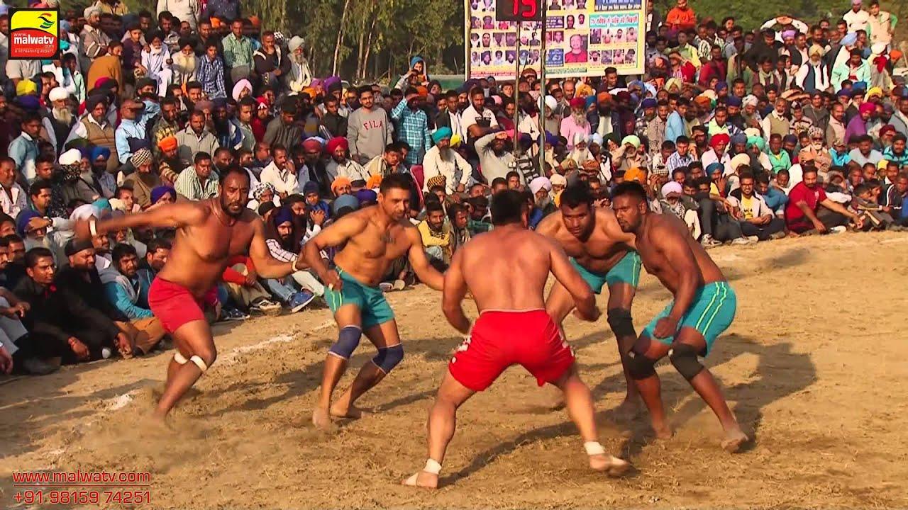 GARHDIWALA (Hoshiarpur) || KABADDI CUP - -2015 || 1st SEMI FINAL || Full HD ||