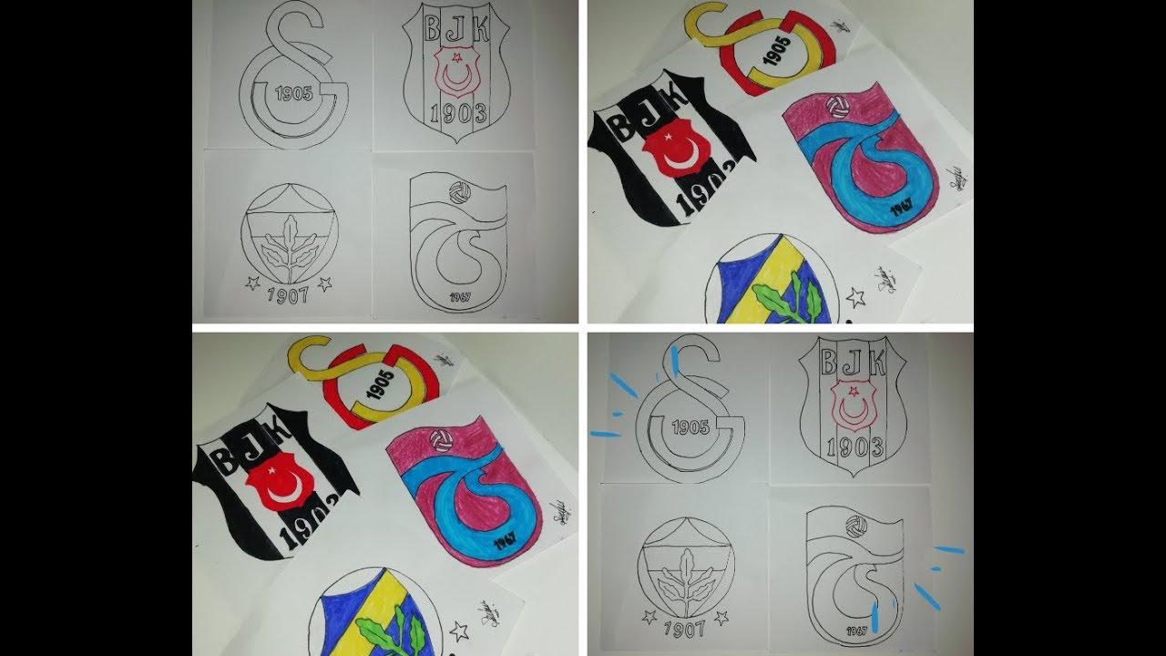Dort Buyukler Arma Boyama Galatasaray Besiktas Trabzonspor