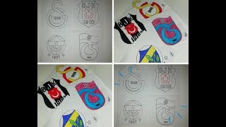 How To Draw Galatasaray Logo