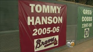 Local School Honors Former Angels Pitcher Tommy Hanson After His Sudden Death