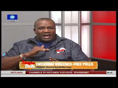 How I Was Attacked By PDP Thugs In Alimosho - Tunde Bank-Anthony
