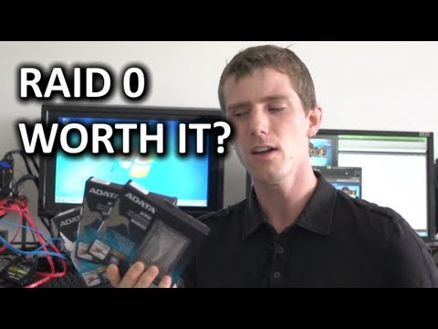 4x SSD RAID 0 Test on Intel's Z87 Platform