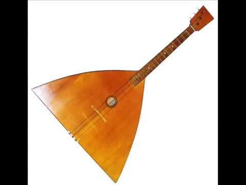 Russian Folk Music Kalinka balalaika