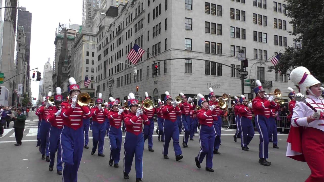 Columbus Day Parade~2014~NYC~Stoney Brook Seawolves MB ...