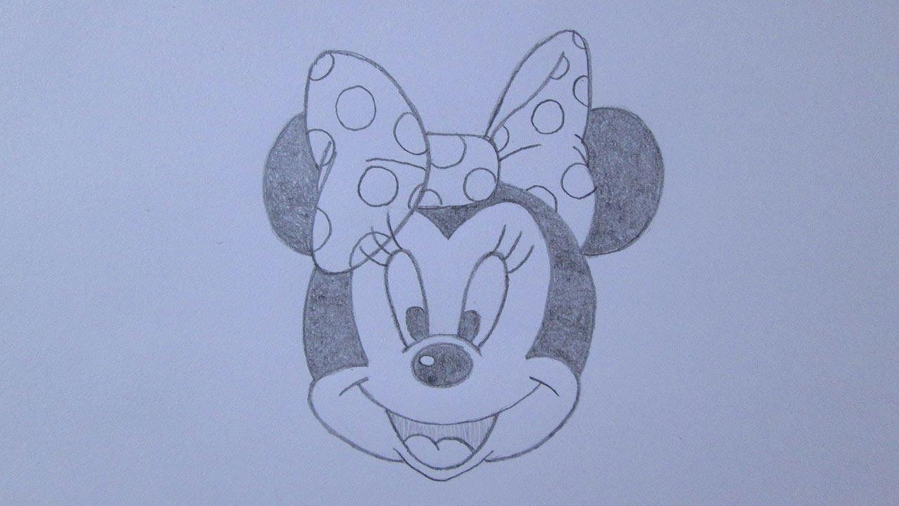 Como Desenhar A Minnie Mouse Youtube