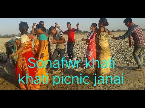 Bodo new local dance ll sonafwr khati khati picnic janai video 2018