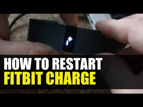 Fitbit Charge - How to Reboot or Restart