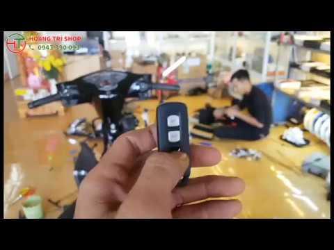 Giới Thiệu Bộ Khóa Smartkey Honda Giá Chỉ Hơn 1 Triệu Giành Cho Các Dòng Xe !!!