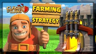 BEST DARK ELIXIR FARMING STRATEGY in Clash of Clans - TH10 & TH11 Queen Charge Miner Attack!