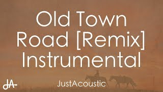 Old Town Road (feat. Billy Ray Cyrus) [Remix] - Lil Nas X (Acoustic Instrumental) Video