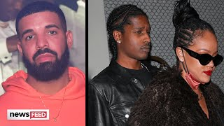 All The Details From Rihanna & A$AP Rocky's Night With Ex Drake!