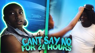 CANT SAY NO TO MY SISTER FOR 24 HOURS !!! | DuB Family