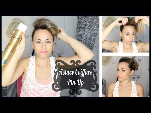 Tuto coiffure pin up cheveux long