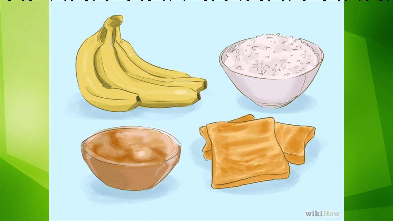 Desayuno cuando tienes diarrea